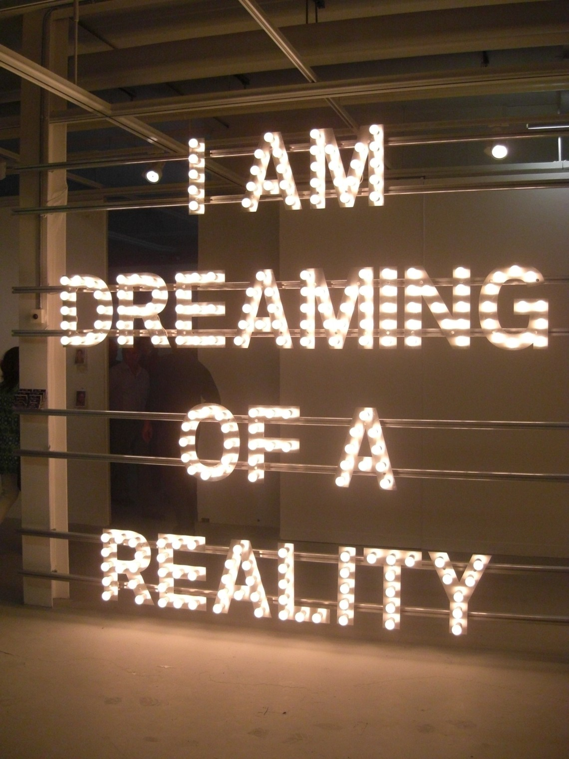 'I am Dreaming of a Reality' by Antonio D'Angelo (2010)