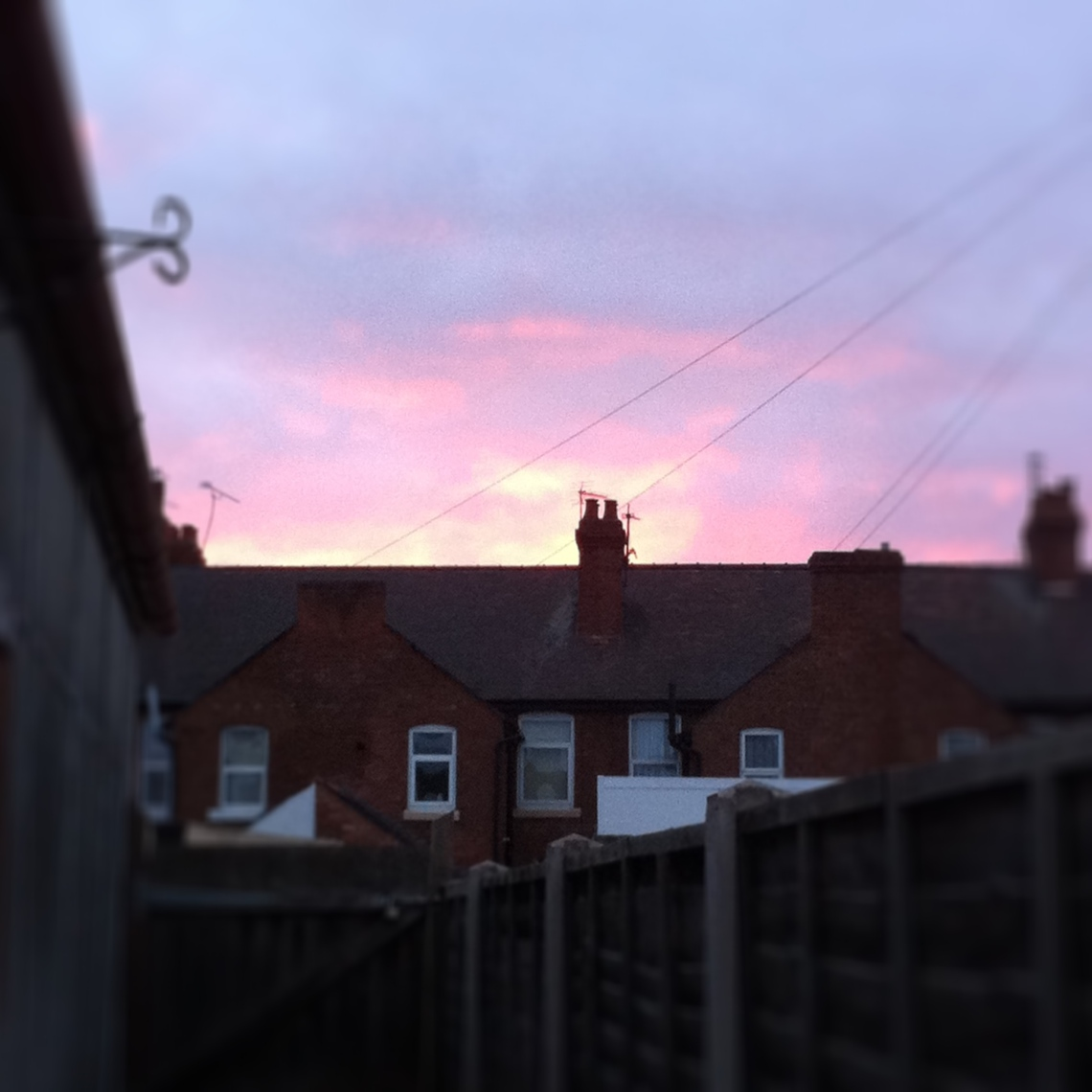 UK sunrise