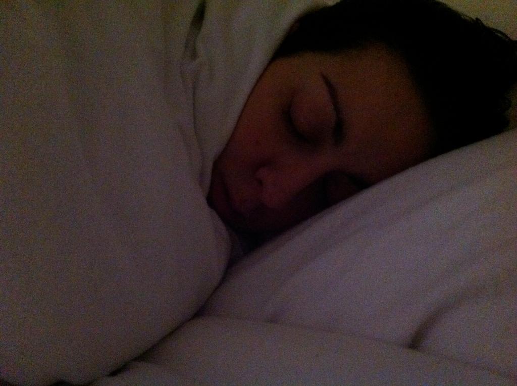 sleeping rachel