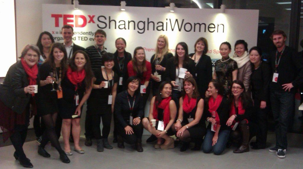 TEDxShanghaiWomen team