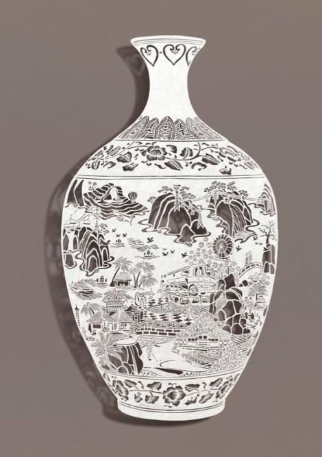 "Bovey Lee, 'Vase II' (2012)21 x 24"""