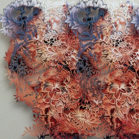 Tom Gallant, 'Chrysanthemum' (2005) Detail