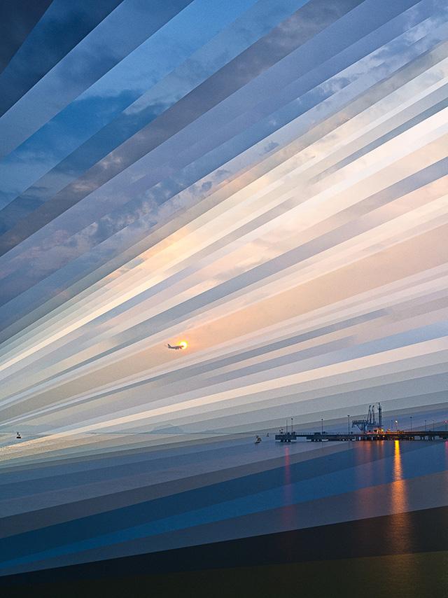 'Changi Beach Sunset 02' (2013) by Fong Qi Wen