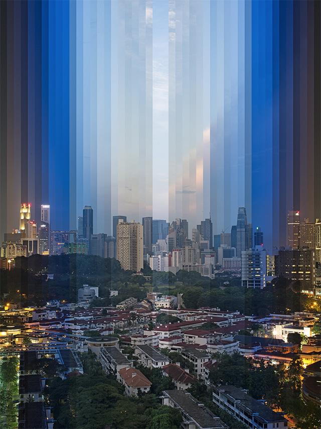 'Tiong Bahru Sunset' (2013) by Fong Qi Wen