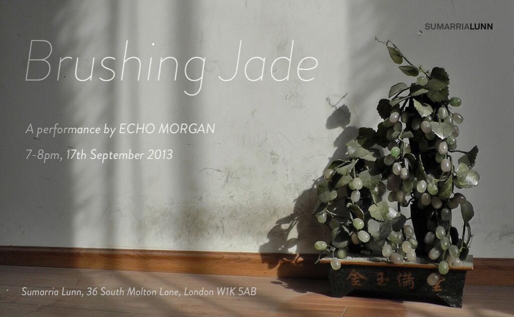 Brushing Jade Echo Morgan