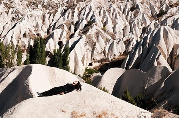 'Cappadocia' by Hanae Utamura (2012) C-Type Print, edition of 5 plus 2 AP, 70 x 102 cm/ 28 x 40 inches. Image copyright the artist.
