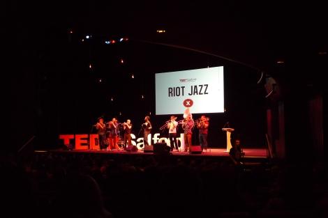 TEDxSalford 2 Riot Jazz
