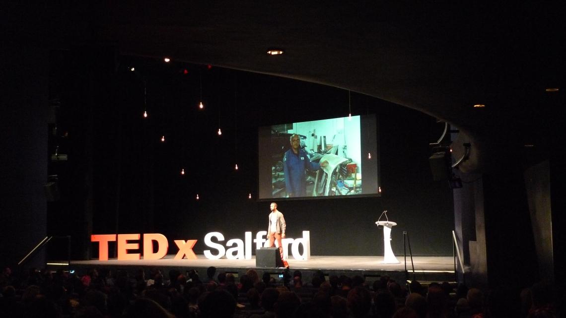 TEDxSalford 3 Hetain Patel