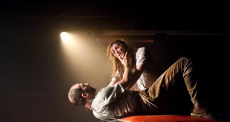 Laure Bachelot (Mary) and Omar Gordon (William). Photo Pari.jpg