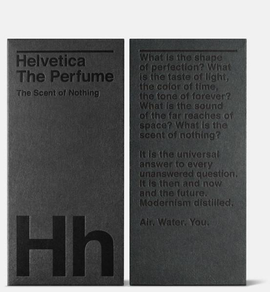 Helvetica The Perfume 1