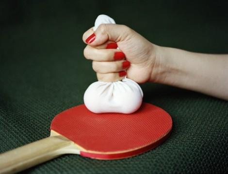'Ping Pong Balls' (2013) by Pixy Liao, c-print