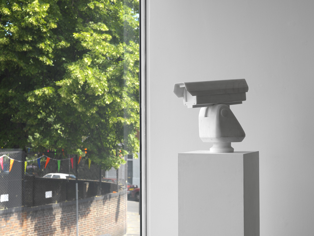 'Surveillance Camera' (2010) by Ai Weiwei. Marble. 39.2 x 39.8 x 19 cm