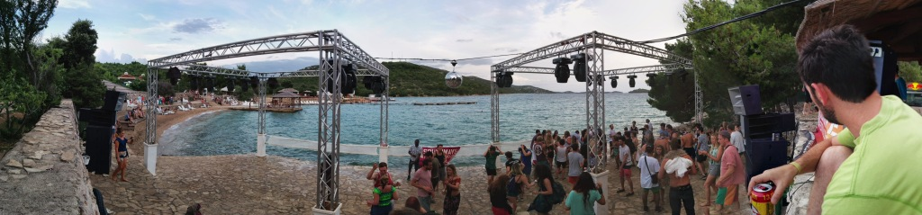 Beach Stage Pano 1
