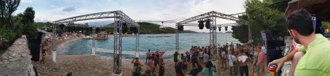 Beach Stage Pano 1