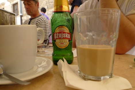 Pivo and macchiato