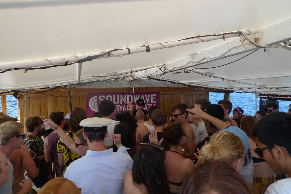 Soundwave boat party