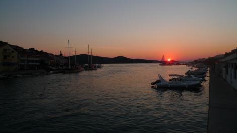 Tisno sunset