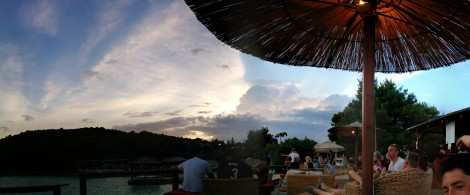 Umbrella cloud dreaming Pano