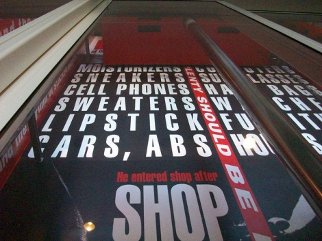Barbara Kruger Shafted