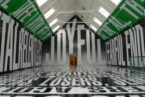 Modern Art Oxford Barbara Kruger 14