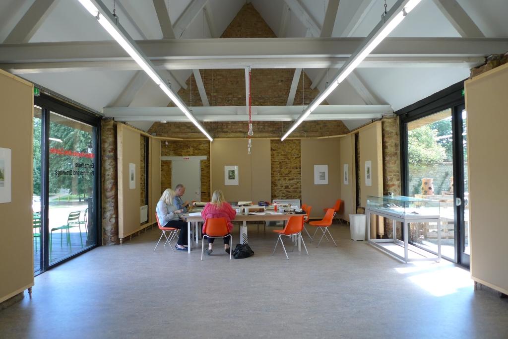 Milton Keynes Arts Centre bookbinding workshop 1