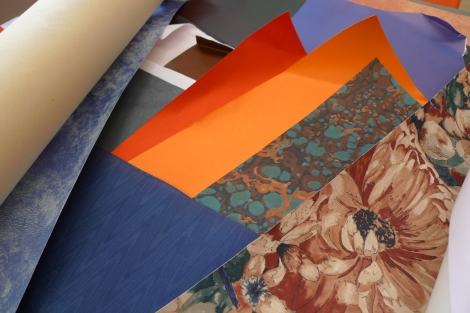 Milton Keynes Arts Centre bookbinding workshop 7
