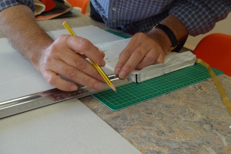 Milton Keynes Arts Centre bookbinding workshop 13