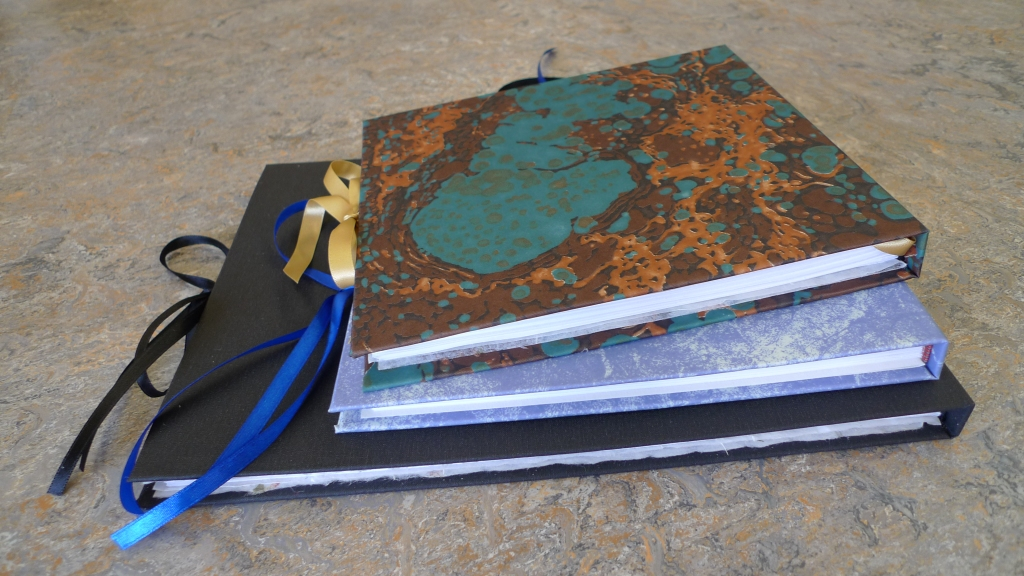 Milton Keynes Arts Centre bookbinding workshop 18