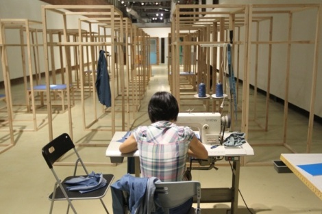 'Production Line - Made in China, Made in Taiwan' (2014) by Huang Po-Chih