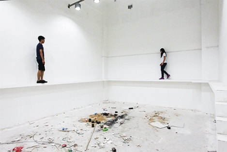 'Border' (2014) by Lai Chih-Sheng, Installation, dimensions variable