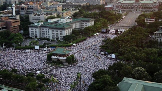 Taiwan Sunflower Revolution