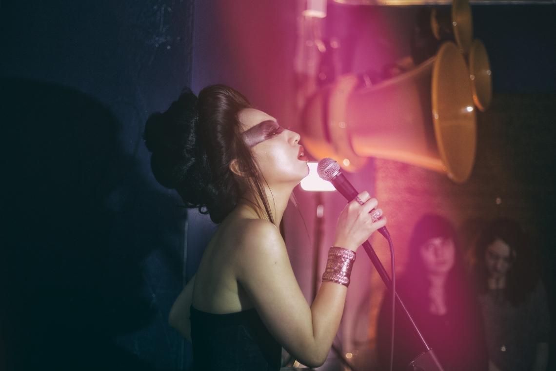 Fifi Rong EP Private Listening Party - Alibi, Dalston, London - 16 March 2014 © al de perez