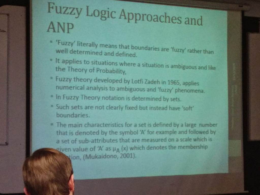 Fuzzy Logic RESCON14