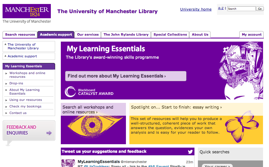 My Learning Essentials Manchester