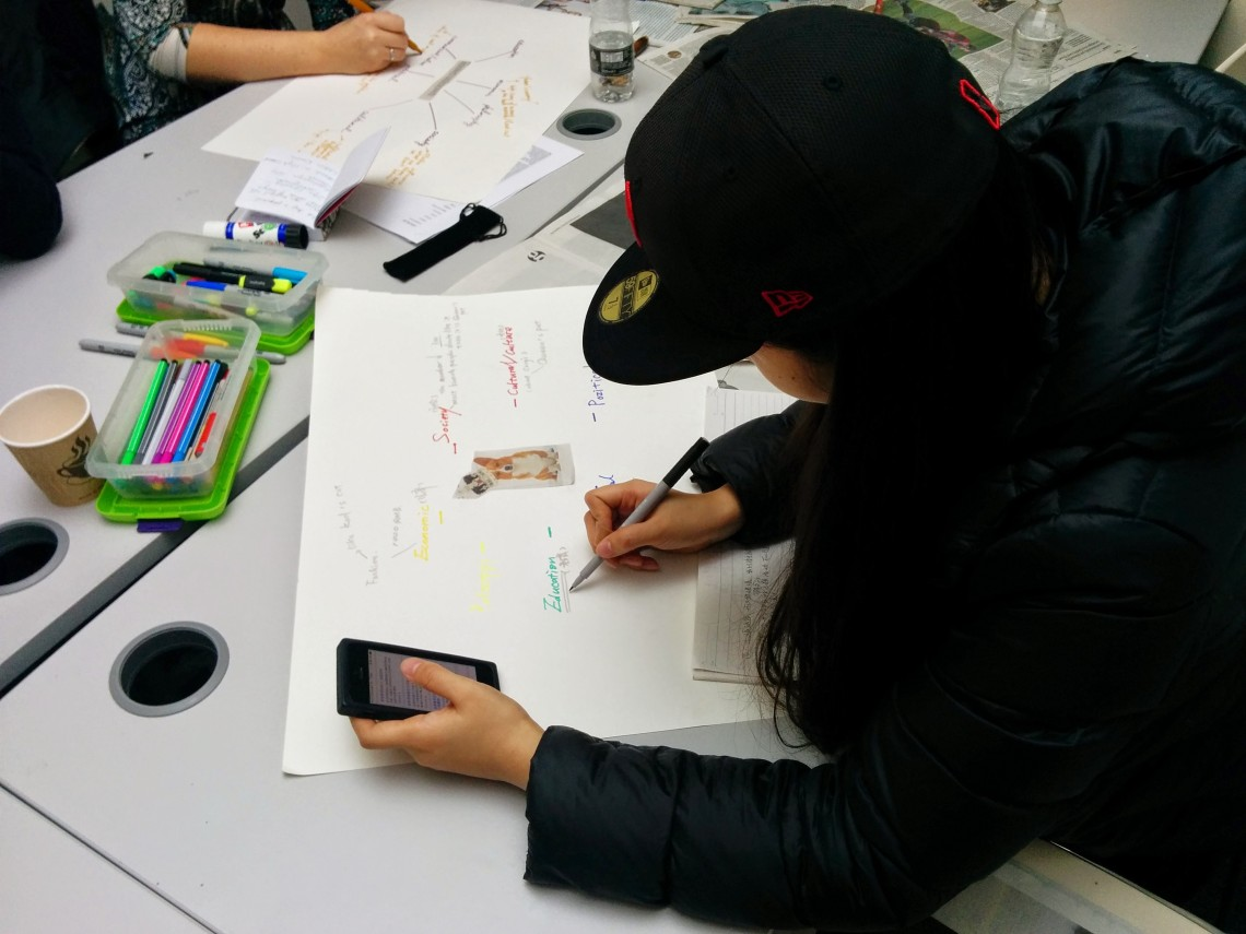 Curatorial concept mapping workshop 1