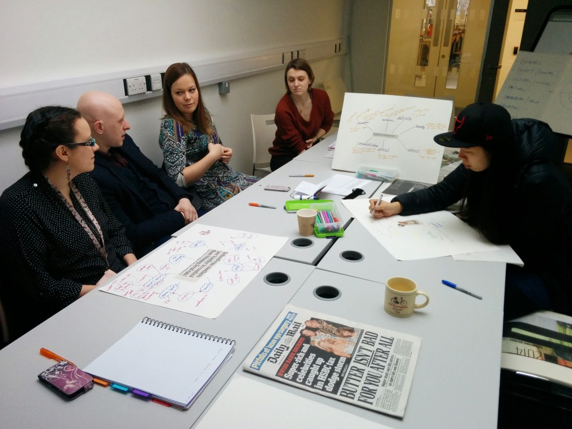 Curatorial concept mapping workshop 5