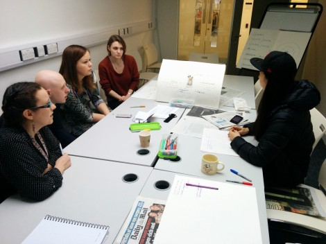 Curatorial concept mapping workshop 8