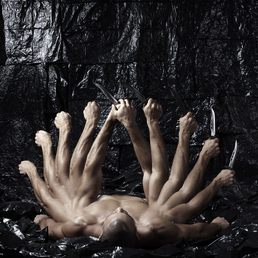 'Being' (2012) by Hazem Mahdy, C-print, 100cm x 100cm