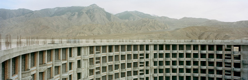 Abandoned 5 Star Hotel Construction. Guide, Qinghai, China. (2014) by  Ian Teh