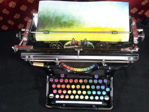 Tyree Callahan Chromatic Typewriter 2