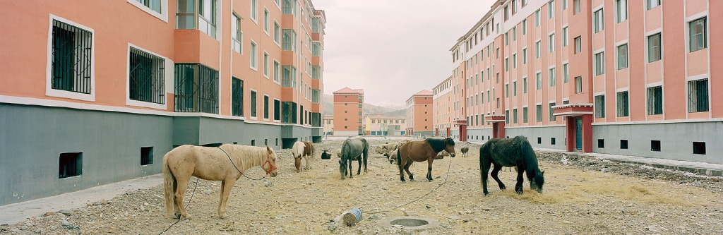 New residential development. Guide, Qinghai, China. (2014) by Ian Teh