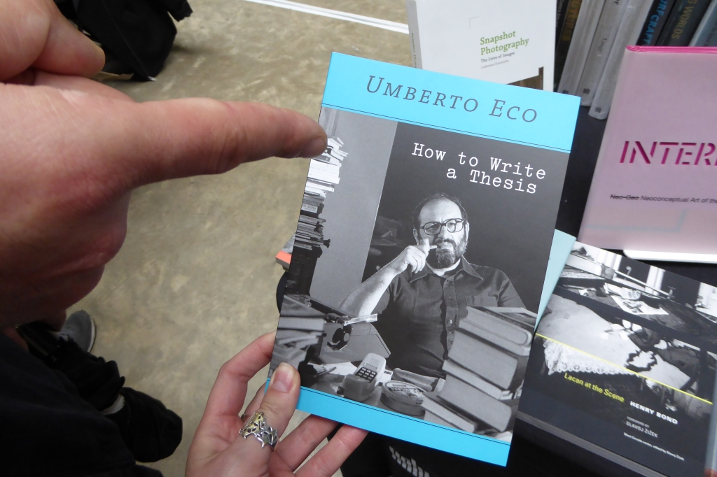 Umberto Eco How to write a thesis