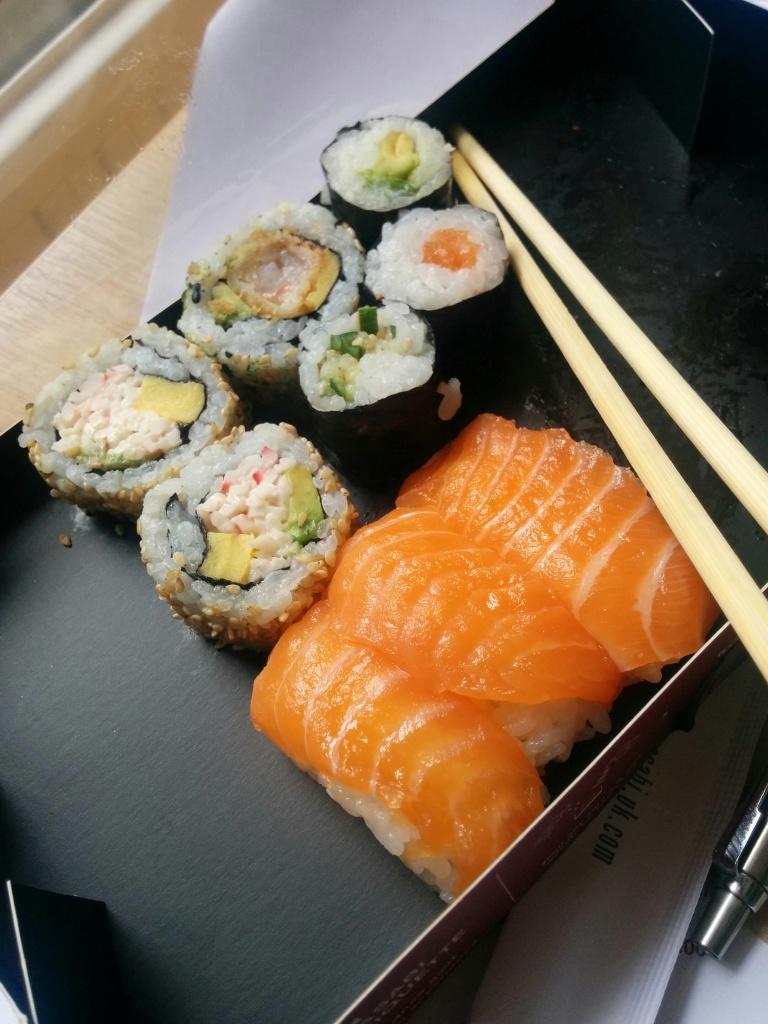 UCL sushi