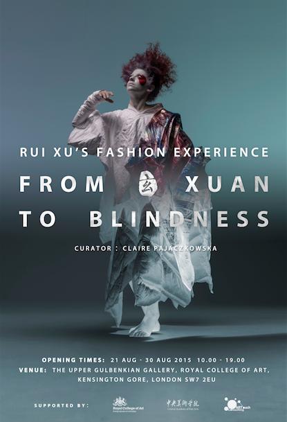 Rui Xu Fashion Exhibition Poster