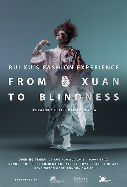 Rui Xu Fashion Exhibition Poster