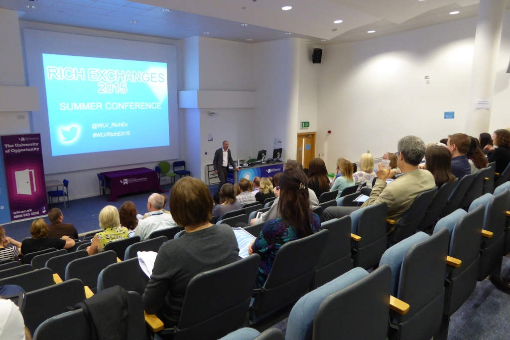 WLV Rich Exchanges Education Conference 1