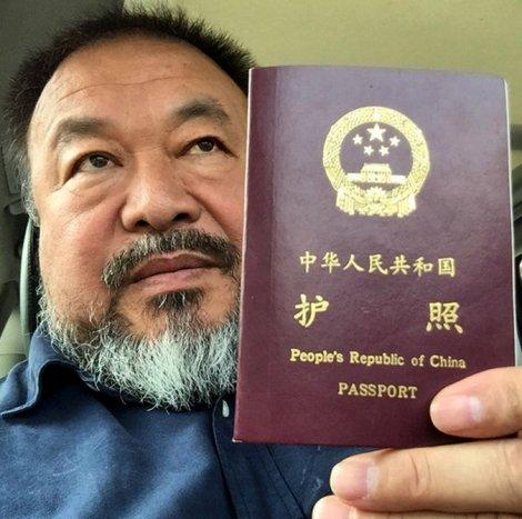 Ai Weiwei Visa 2015 4