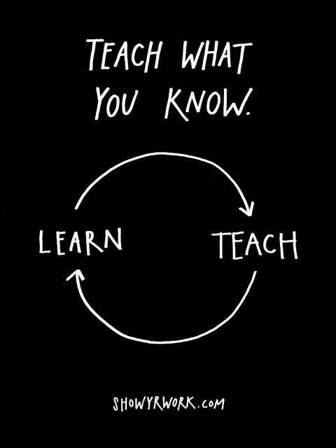 Austin Kleon Teach What you Know
