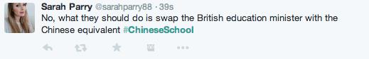 Chinese School BBC2 Twitter 1