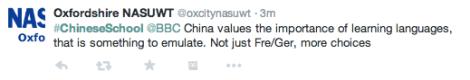 Chinese School BBC2 Twitter 5